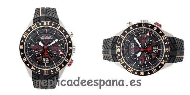 «All Black» Maravillosa reproducción HUBLOT Big Bang Unico Sapphire Black Watch Replicas Relojes